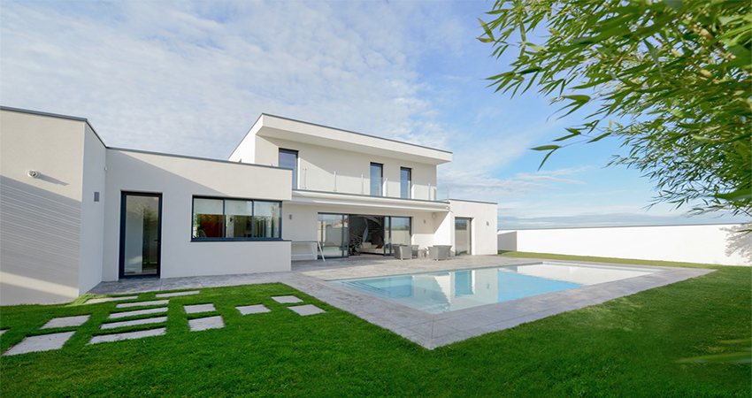 architecture des sens pour une maison contemporaine