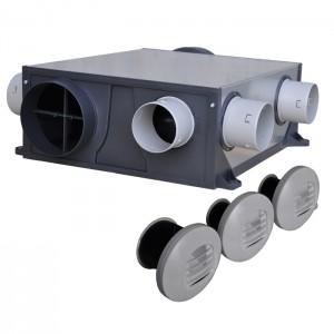 Kit de vmc ventilation mécanique contrôlée