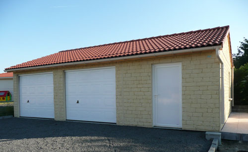 garage préfabriqué en béton