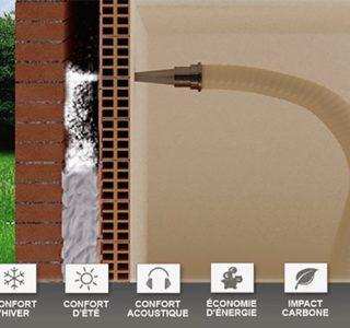 isolation thermique de mur