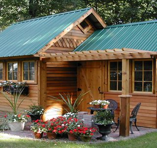Abri jardin en bois