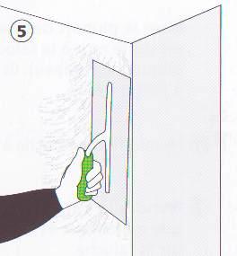 lissage de mur crepi
