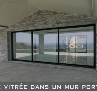 ouverture de baie vitrée